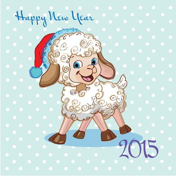 Поздравительные новогодние открытки на 2015 года, днем рождения мужчину