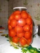 Сладкие помидоры с морковной ботвой