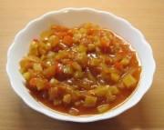 вкусный салат из кабачков и помидоров на зиму