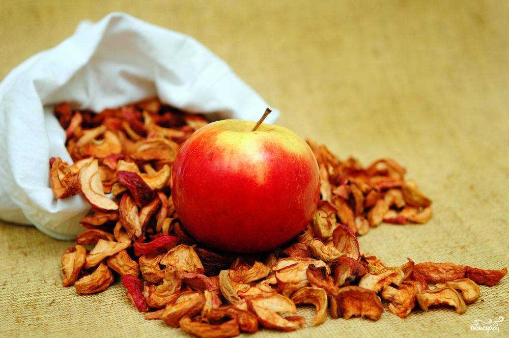 Сушеные яблоки. Состав, свойства, как готовить 63