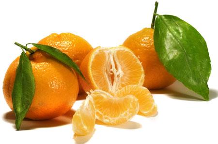 Фото: Вкусные и аппетитные мандарины.