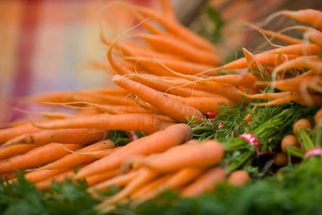 Состав и витамины в моркови