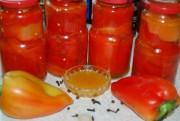Перец консервированный на зиму - особый рецепт с медовым маринадом.