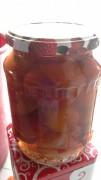Натуральные консервированные сливы без сахара половинками в собственном соку