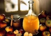 Натуральный домашний яблочный уксус