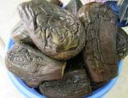 Вкусная турша из баклажанов и фасоли