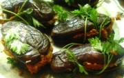 Баклажаны фаршированные овощами на зиму - рецепт приготовления вкусной маринованной заготовки из баклажан.