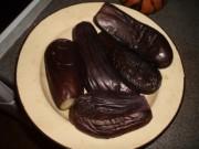 Соленые баклажаны с чесноком и укропом