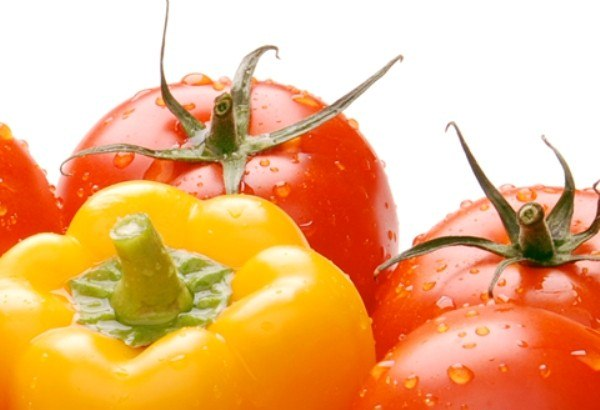 Перец и помидор