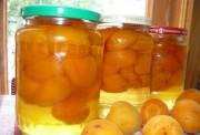 Абрикосы консервированные на зиму без шкурки