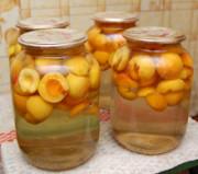 Натуральные абрикосы консервированные на зиму без сахара