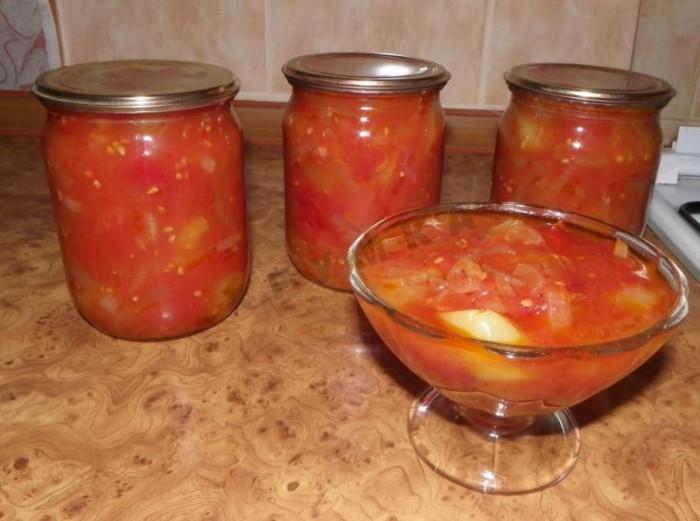 Лечо из сладкого болгарского перца