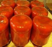Вкусные консервированные помидоры в собственном соку