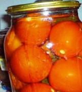Помидоры маринованные с медом на зиму