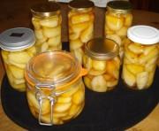 Сладкие груши консервированные в собственном соку на зиму