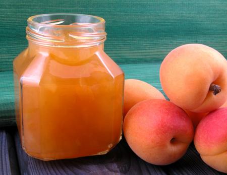 Готовое абрикосовое желе