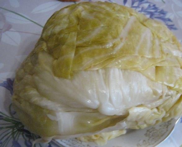 Квашенная капуста по-болгарски
