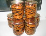 Жареные баклажаны консервированные на зиму в домашних условиях
