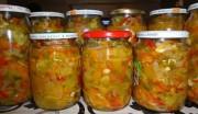 Домашняя заготовка из зеленых помидор