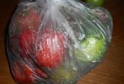 Соленые помидоры в пакете