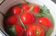 Соленые помидоры с горчицей на зиму.