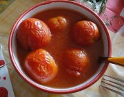 Соленые помидоры в собственном соку