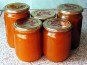 Пюре из моркови с облепиховым соком