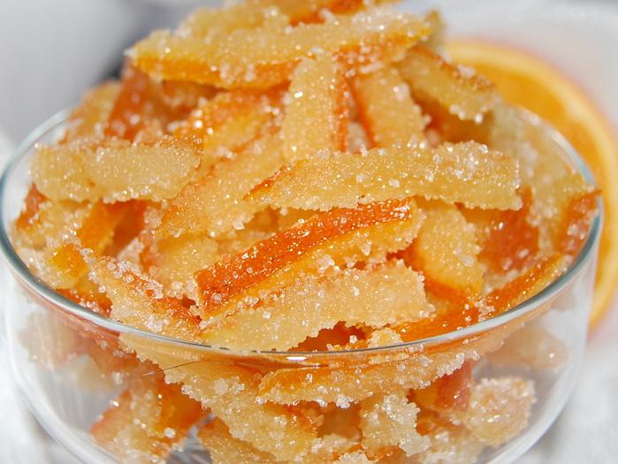 Как сделать цукаты в домашних условиях из апельсинов