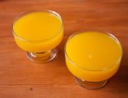 Вкусное прозрачное желе из апельсинов
