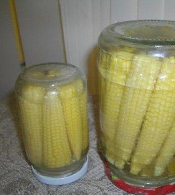 кукуруза маринованная в початках на зиму