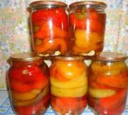 Как мариновать болгарский перец целиком на зиму