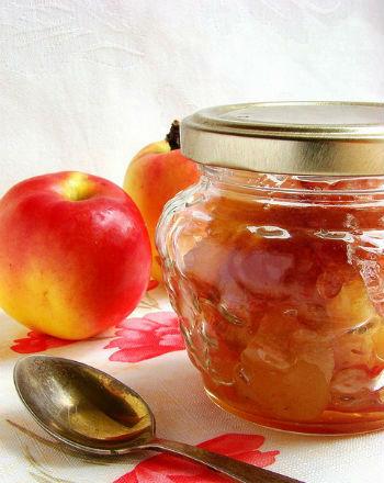 рецепт варенье из яблок в духовке