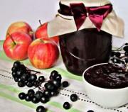Густое варенье из черноплодной рябины с яблоками