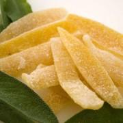 Домашние цукаты из лимонных корок