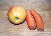 Морковь с яблоками на зиму