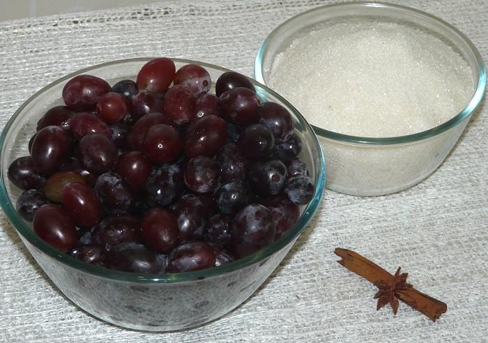 Домашнее варенье из винограда на зиму - пошаговый рецепт с фото как варить виноградное варенье в духовке