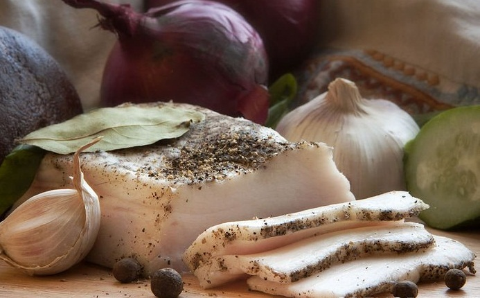 Рецепт засолки сало в домашних условиях