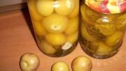 Овощной физалис маринованный с чесноком без стерилизации