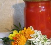 Овощной физалис маринованный в томатном соке