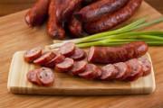 Дымная домашняя колбаса холодного копчения