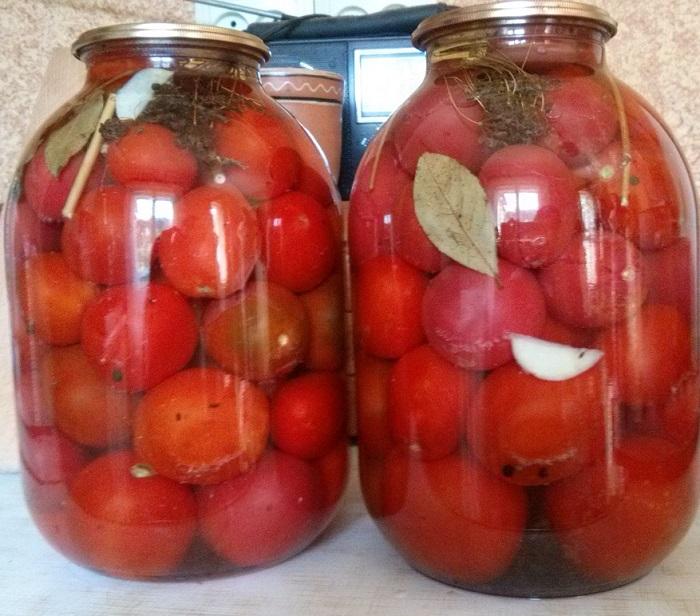 Вкусныеы помидоров на зиму без стерилизации