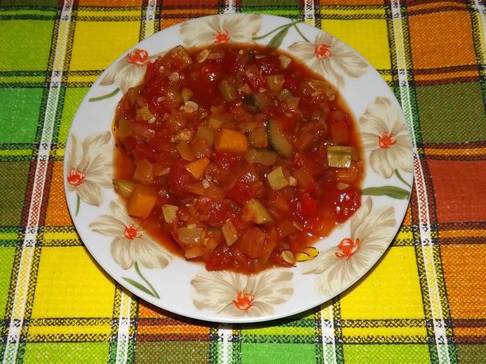 Зимний салат из кабачков Анкл Бенц