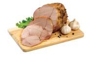 Домашняя вареная буженина из свинины