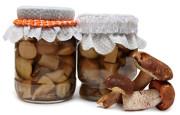 Горячая засолка грибов на зиму