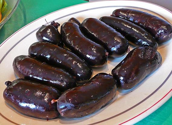 Кровяные колбаски рецепт
