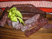 Луканка свиная - домашняя сухая колбаса
