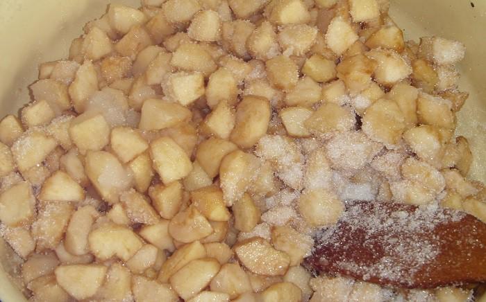 Рецепт варенья из яблок пятиминутка