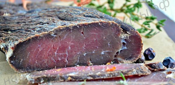 Билтонг или вяленое мясо