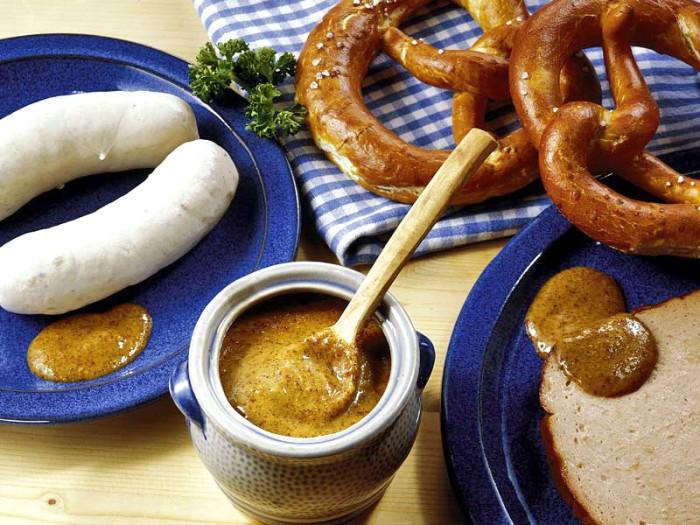 """Баварская сладкая горчица или """"горчица для белой сардельки"""""""