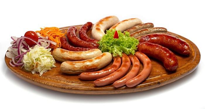 Немецкие колбасы